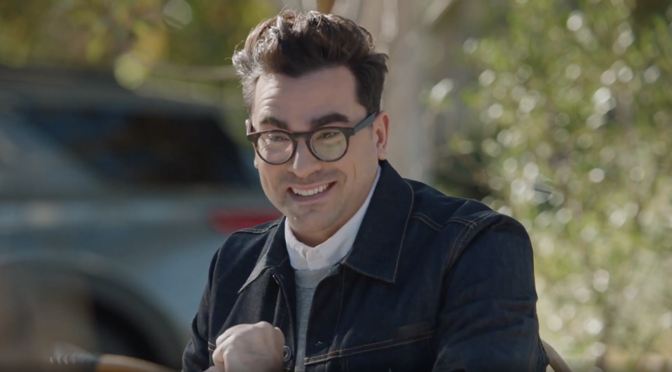 The best and worst Super Bowl LV ads. Dan Levy in M&M's 2021 'Come Together' commercial.