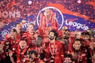 Liverpool won the English title for the first time in three decades