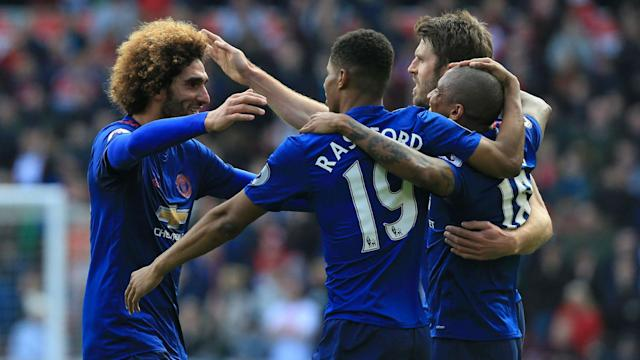 The Red Devils, as the most successful side in English top-flight history, wrapped up a milestone success as they prevailed 3-1 at the Riverside