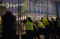 """Many of the so-called """"yellow vest"""" protesters were male low-income earners from provincial France"""