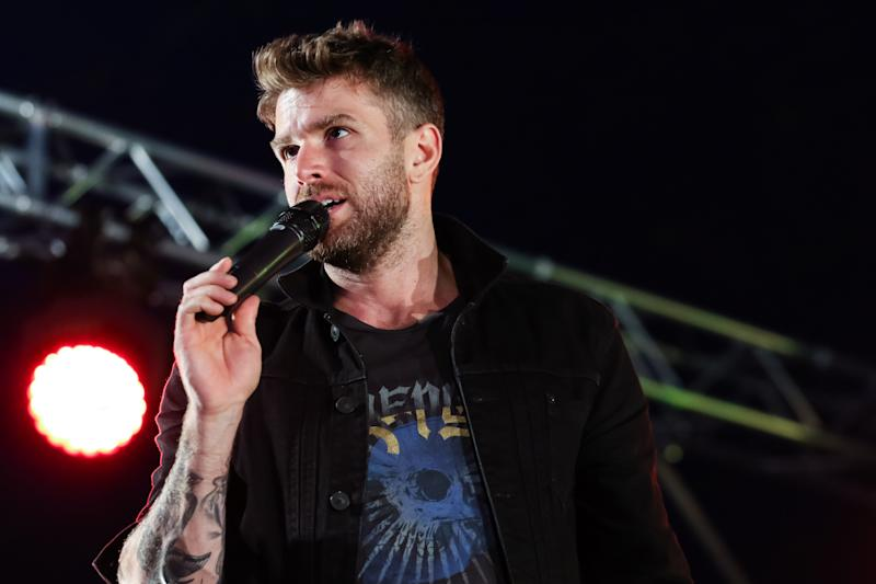 Joel Dommett performs on the Alternative Stage during day two of the Leeds Festival at Bramhall Park on August 25, 2018 in Leeds, England. (Photo by Carla Speight/Getty Images)