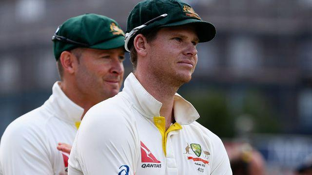 Clarke and Smith in 2013. Image: Getty
