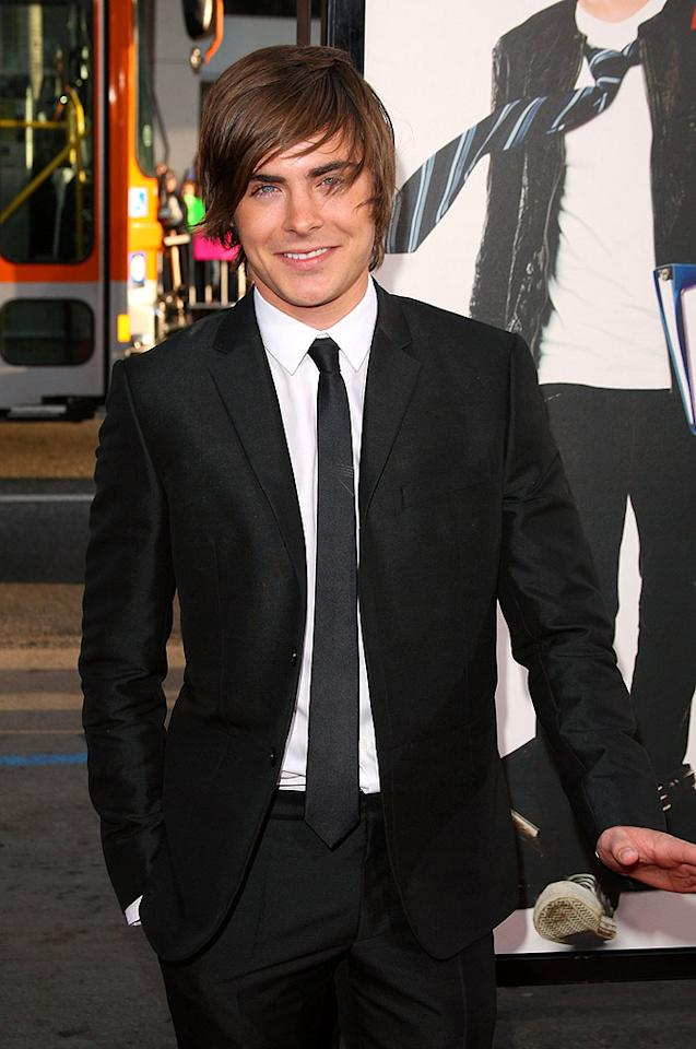 """Zac Efron echoed Megan Fox's sentiments about tying the knot. The """"17 Again"""" actor laughed off rumors he's engaged to Vanessa Hudgens, telling GQ, """"I'm definitely not getting married. In this business, you're either getting married or they want you to be pregnant. I'm not getting married until I'm 40. If ever. The thought never crossed my mind."""" <a href=""""http://www.gettyimages.com/"""" target=""""new"""">GettyImages.com</a> - April 14, 2009"""