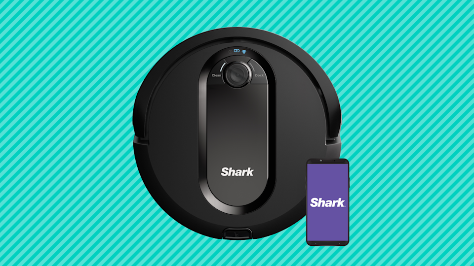Save $195 on this Shark IQ Robot Vacuum R100. (Photo: Walmart)