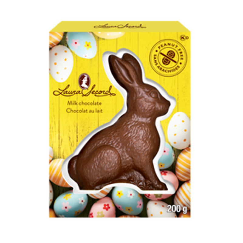Bruno – Milk Chocolate Bunny. Image via Laura Secord.