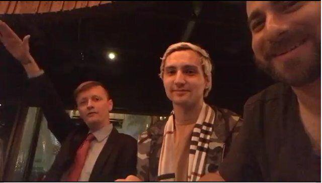 White nationalist Bryden Proctor, Stop the Steal organizer Mike Coudrey and white nationalist Tim Gionet. (Photo: Screengrab)