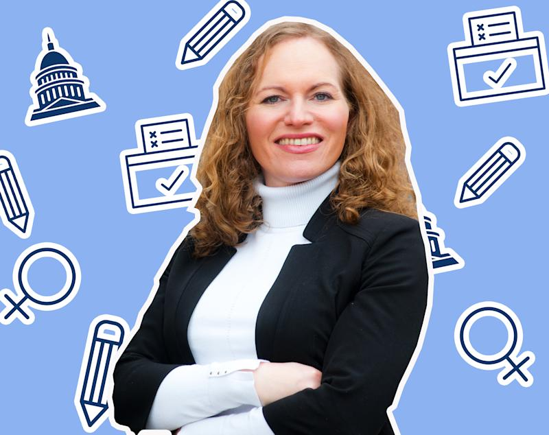 Alexandra Chandler is fighting to become the first openly transgender person in Congress