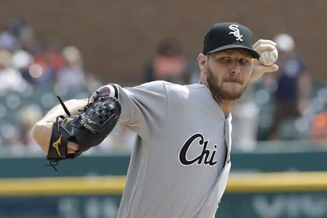 The White Sox pulled the trigger, trading away ace Chris Sale. (AP)