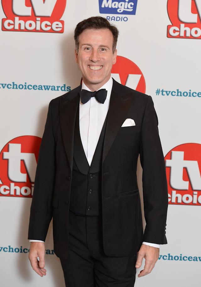 Anton du Beke attends the TV Choice Awards at The Dorchester on September 10, 2018 in London, England. (Photo by Jeff Spicer/Getty Images)