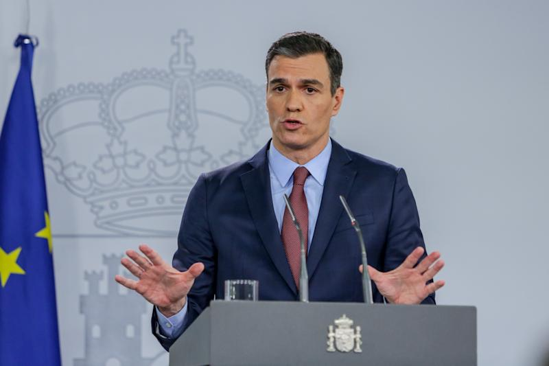 Pedro Sanchez (Photo by Europa Press News/Europa Press via Getty Images)