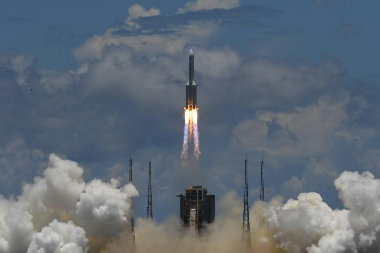 The Tianwen-1 mission to Mars lifted off from southern China's Hainan province in July -- it has now entered Mars' orbit