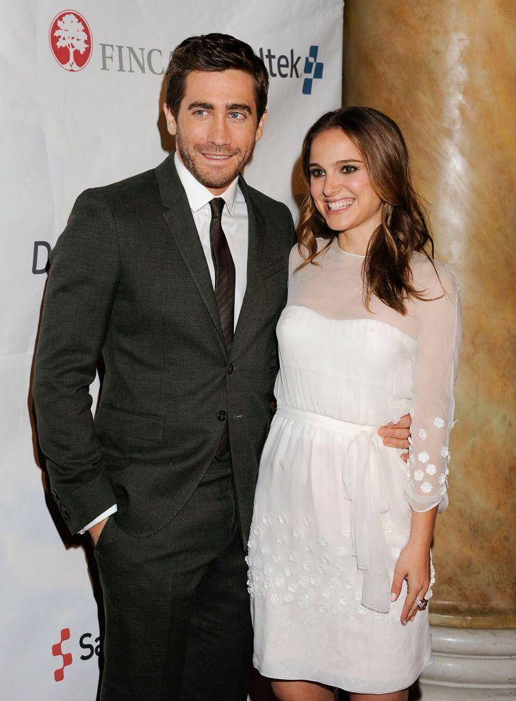 """<p>The couple dated briefly in 2006, and have stayed friends since. He even joked about her habits when presenting Natalie with the '<a href=""""https://www.eonline.com/news/219592/natalie-portman-flashes-her-bling-in-palm-springs"""" rel=""""nofollow noopener"""" target=""""_blank"""" data-ylk=""""slk:Desert Palm Achievement Award"""" class=""""link rapid-noclick-resp"""">Desert Palm Achievement Award</a>' in 2011, commenting, """"She's a vegan, which makes it really frustrating when you're picking a place to eat.""""</p>"""