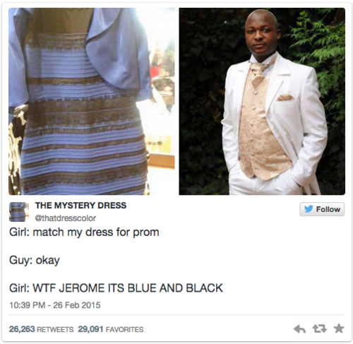 49b2496f72 What  TheDress Color You See Says About You — According To Science