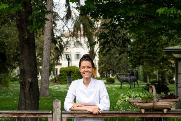 Jessica Rosval is a Quebec-born chef recently named Italy's best female chef in the Guida dell'Espresso. (Photo by Stefano Scatà - image credit)