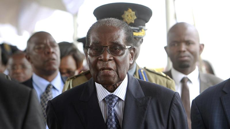 Zimbabwe President Robert Mugabe has been dismissed as leader of the ZANU-PF party, reports say