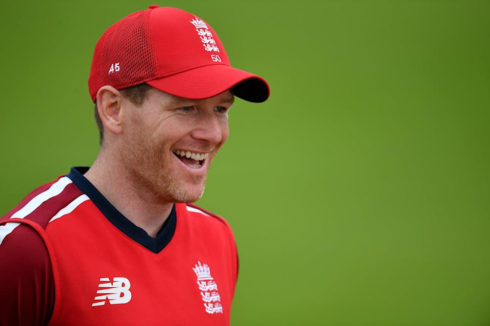 Eoin Morgan in action for England (PA Archive)