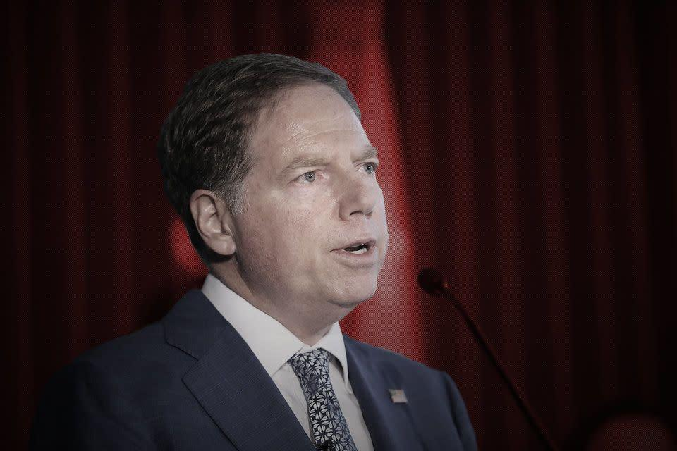 U.S. Attorney for Southern District of New York Geoffrey Berman. (Photo: HuffPost Illustration/Getty Images)