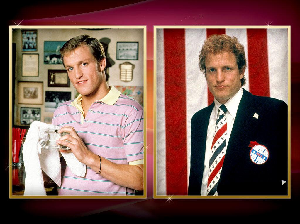 "Woody Harrelson — We first saw Harrelson's goofy grin back in 1985, when he joined NBC's classic sitcom ""<a href=""http://tv.yahoo.com/cheers/show/46"" rel=""nofollow"">Cheers</a>"" as aw-shucks farm boy Woody Boyd. After the show ended, though, he built a respectable film career for himself, receiving Oscar nominations for playing famed smut peddler Larry Flynt in 1997's ""The People vs. Larry Flynt"" and Army captain Tony Stone in 2009's ""The Messenger."""