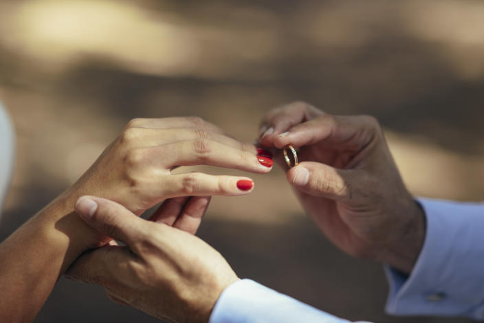 Some wedding industry professionals are distancing themselves from plantation weddings. (Getty Creative)