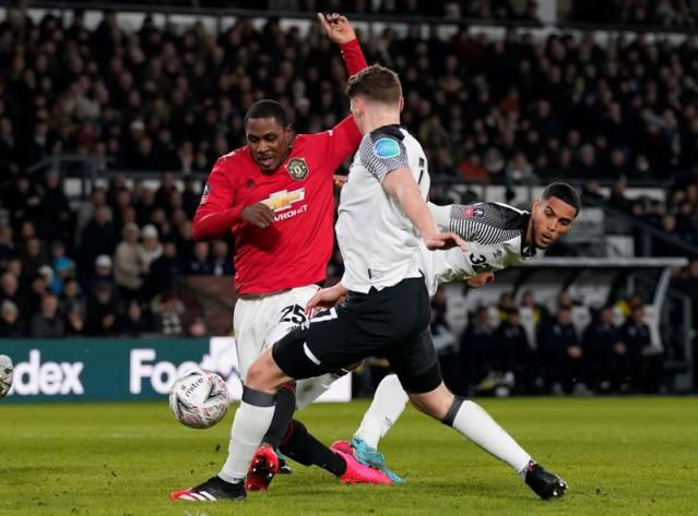 FA Cup Fifth Round - Derby County v Manchester United