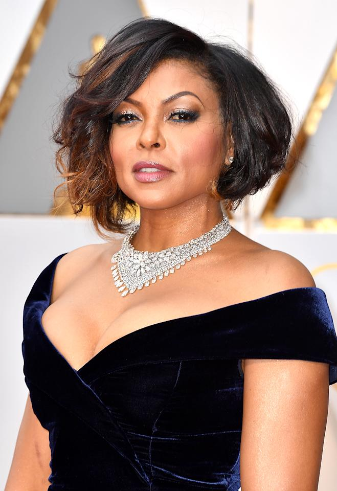 <p>In 2016, MAC Cosmetics tapped actress Taraji P. Henson for a Viva Glam collection that included lipsticks, highlighters, eyeliner, and mascaras that sold out almost immediately. (Photo: Jeff Kravitz/FilmMagic) </p>