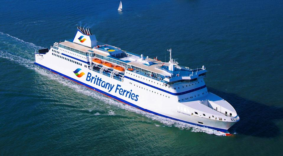 Portugal bound? Cap Finistère, the ship that may be used for a new route from the UK (Brittany Ferries)