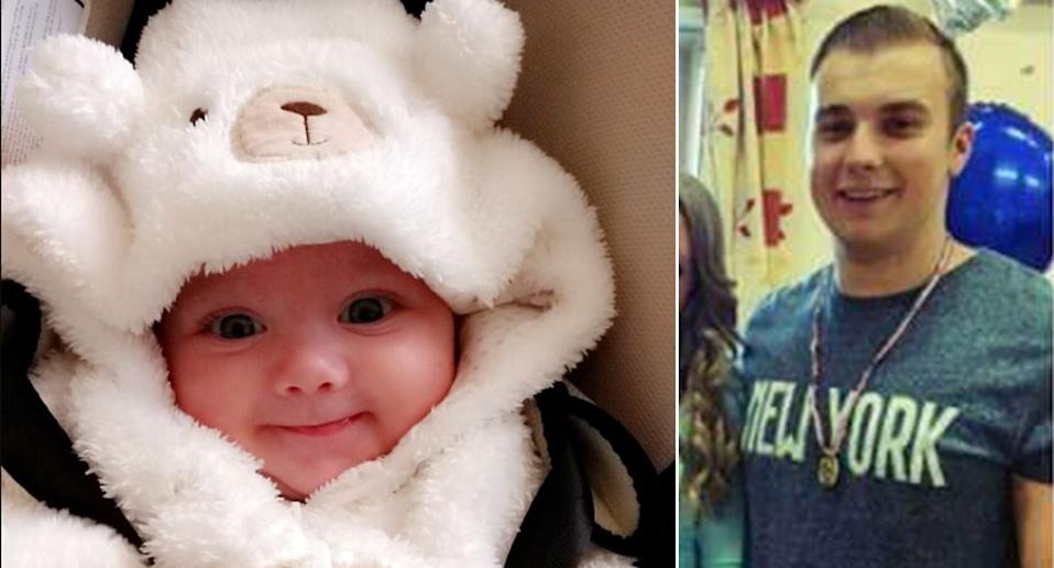 Baby Cody died after he was shaken by his father. (WalesNewsService)