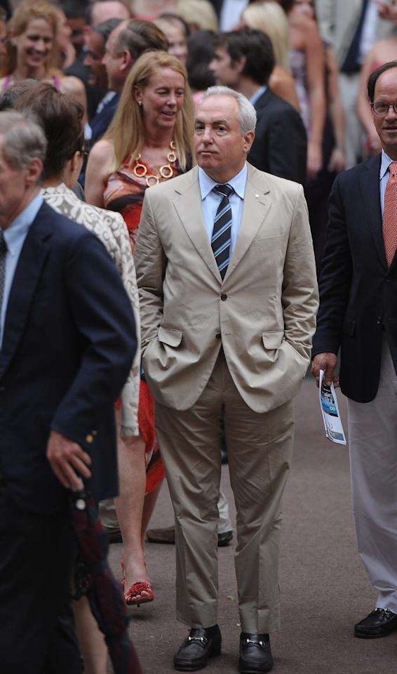 NEW YORK, NY - JUNE 30:  Lorne Michaels attends Alec Baldwin and Hilaria Thomas' wedding ceremony at St. Patrick's Old Cathedral on June 30, 2012 in New York City.  (Photo by Michael Loccisano/Getty Images)
