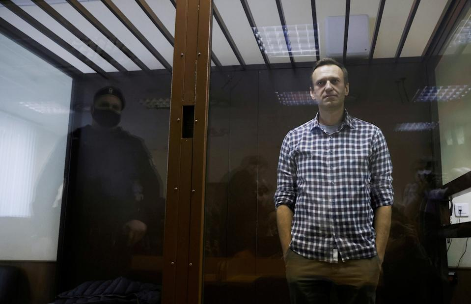 Russian opposition leader Alexei Navalny (REUTERS)