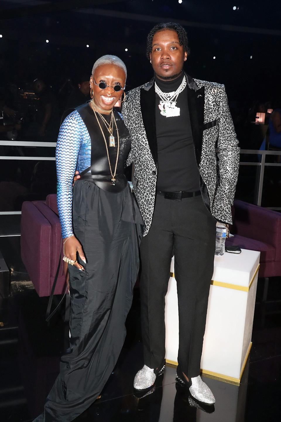 The Tony-, Grammy-, and Emmy-winning actor has never been afraid of taking fashion risks and the BET Awards wouldn't be the exception. In a true fashion power move, the star donned Marine Serre, Loewe, Rick Owens, and Vera Wang for her look.