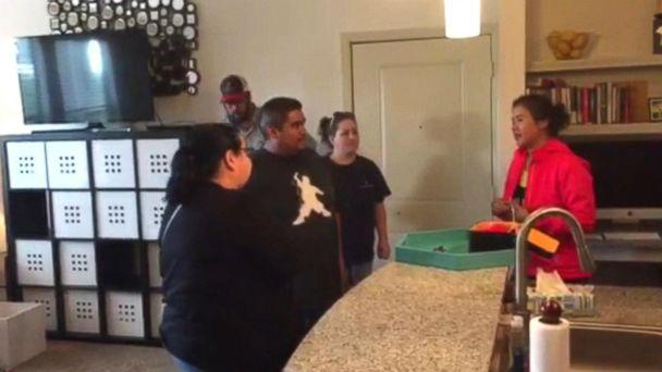 PHOTO: Realtor Stephanie Fry offered up her own apartment to families who needed a place to stay. (ABC News)