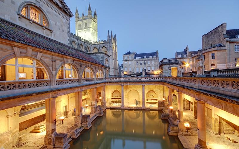 Bath is Britain's original spa town - olliemtdog