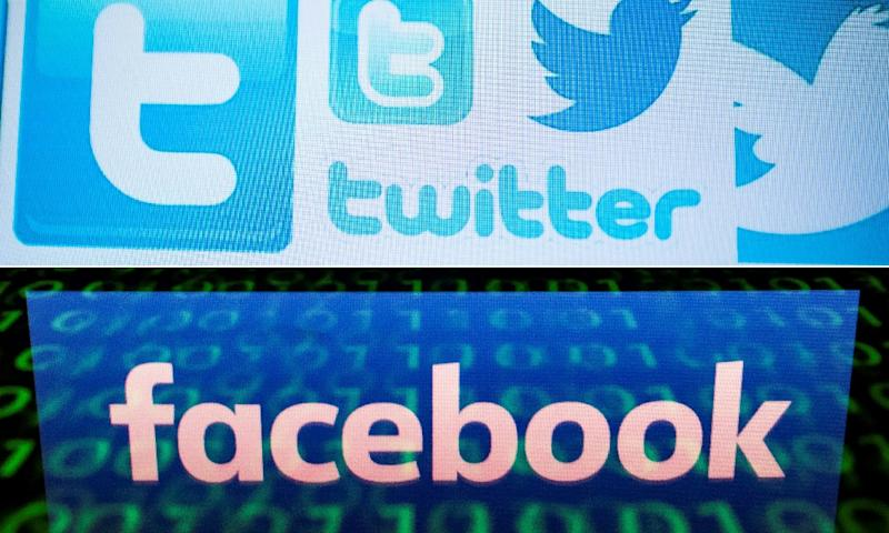 Facebook and Twitter have removed accounts used in an Iran-based social media campaign aimed at swaying public opinion