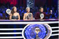 <p>Apparently not everyone was happy when former pro dancer Julianne returned in season 18 as a judge. In fact, many of the show's stars, like fellow dancer Karina Smirnoff, questioned if it was even ethical for Julianne to judge her own brother. </p>