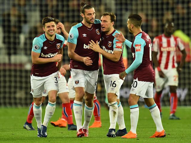 Andy Carroll and Peter Crouch make their presence felt as West Ham deny Stoke a much-needed win