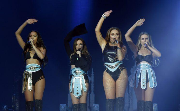 Little Mix are up for three Brit Award nominations for Best British Single, Best Video and Best Group [PA]]