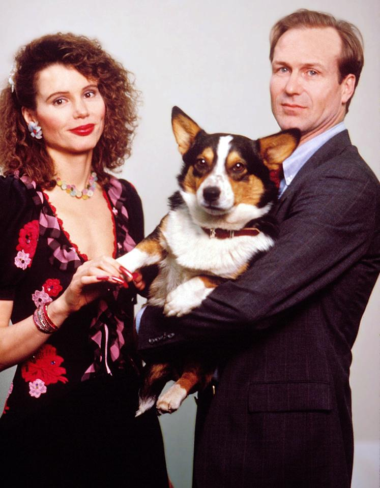 "Geena Davis, circus trickster. OK, yes, she knew the director Larry Kasdan through her then husband, Jeff Goldblum. Yes, she was asked to audition for the role of dog trainer Muriel Pritchett in ""The Accidental Tourist"" (1988). Still, according to a 1994 interview with the Boston Herald, while she didn't subscribe to ""showy high jinks"" in auditions, Davis wasn't above doing tricks: She balanced a stick on her finger, a bit of legerdemain that cemented her chances — and she'd go on to win as best supporting actress."