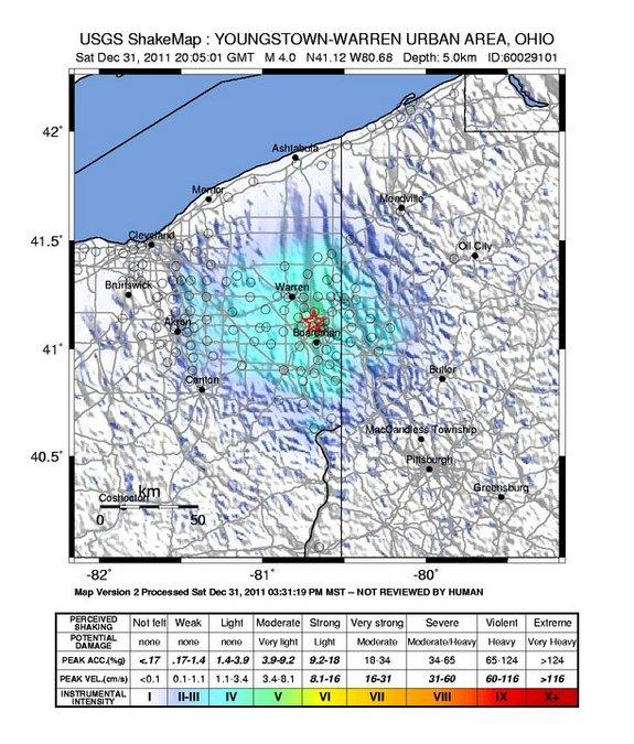 Fracking Practices to Blame for Ohio Earthquakes