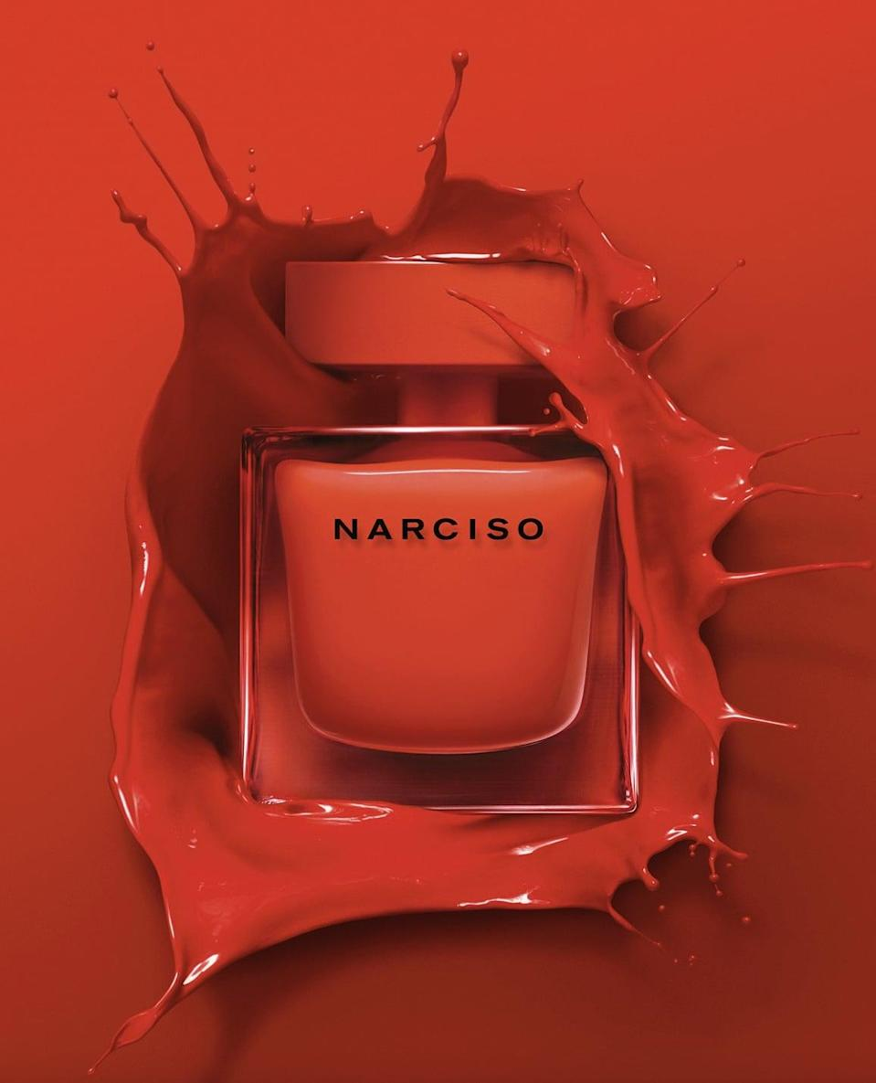 <p><span>Narciso Eau de Parfum Rouge</span> ($118) will intoxicate you with woody, musky, and flowery notes.</p>