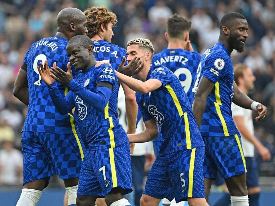 Chelsea host Manchester City in a sizeable early season Premier League encounter  (AFP via Getty Images)