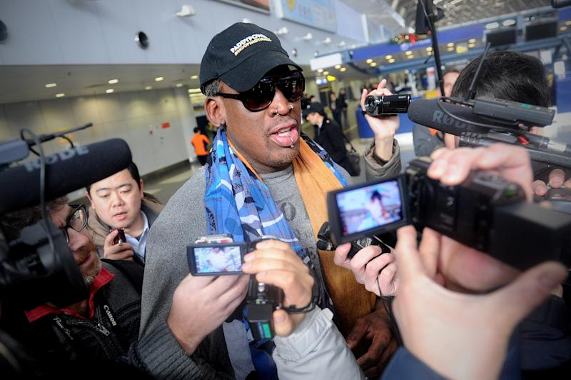 Dennis Rodman tweets photo of Kim Jong Un wearing Trump MAGA hat