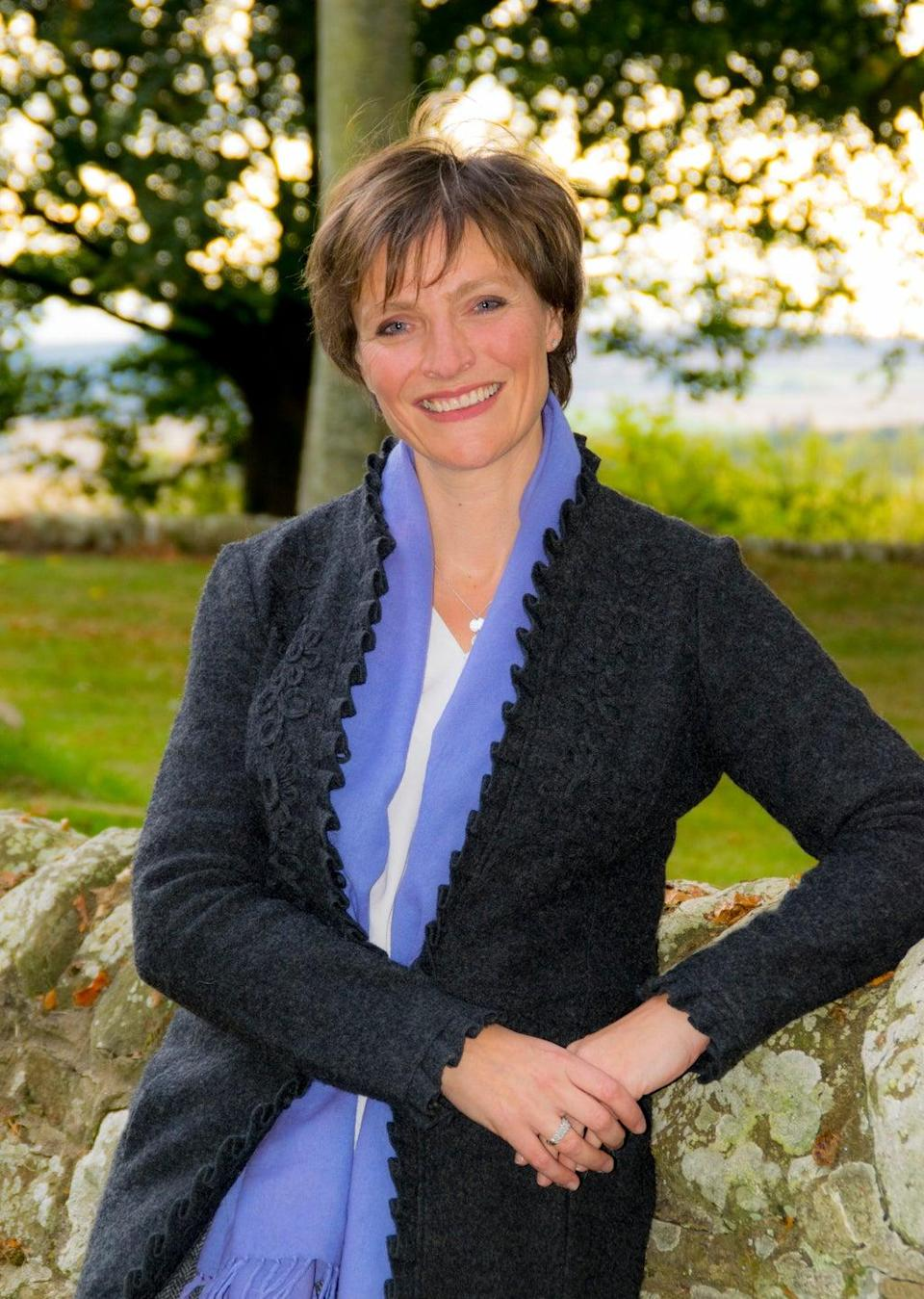 Gordonstoun's current principal, Lisa Kerr, has apologised for the historic abuse which took place at the school (PA) (PA Media)