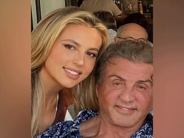 Sylvester Stallone with daughter Sophia (Image Source: Instagram)