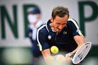First timer: Russia's Daniil Medvedev has won his first matches at Roland Garros