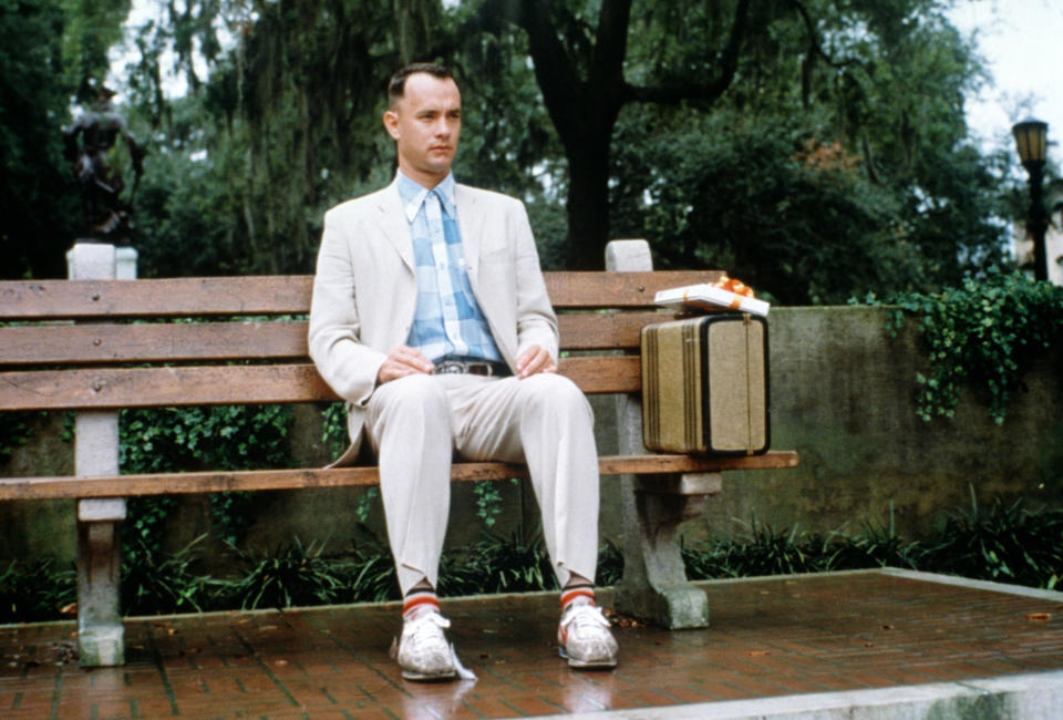 Tom Hanks in 1994 movie 'Forrest Gump'. (Photo by Sunset Boulevard/Getty Images)