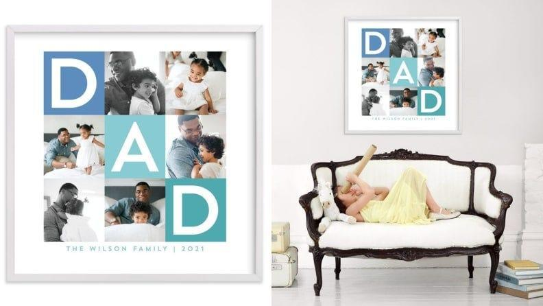 Best Father's Day Gift: A Minted photo collage