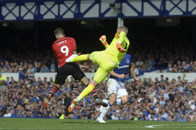 Jordan Pickford's foot might have been high but it was not dangerous
