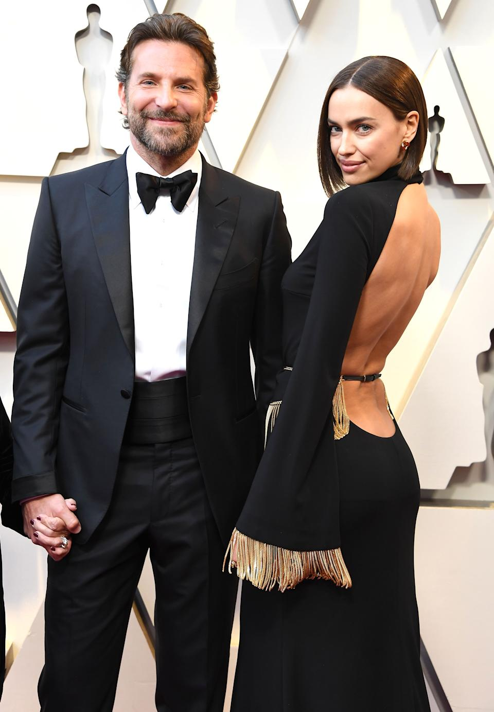 Bradley Cooper and Irina Shayk arrives at the 91st Annual Academy Awards at Hollywood and Highland on February 24, 2019 in Hollywood, California. (Photo by Steve Granitz/WireImage)