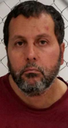 FILE PHOTO: Amor Ftouhi, arrested in connection with the stabbing of a police officer at Bishop International Airport in Flint, Michigan, is pictured in this handout photo
