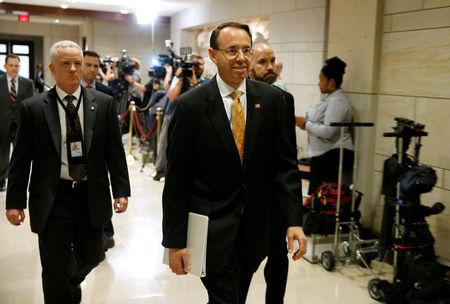 Rosenstein On Comey Memo: 'I Wrote It. I Believe It